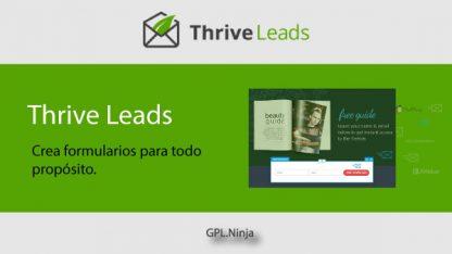 Plugin Thrive Leads