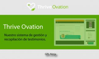 Plugin Thrive Ovation