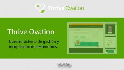 Plugin Thrive Ovation