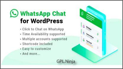 Plugin Whatsapp Chat for Wordpress