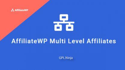 Plugin AffiliateWP Multi Level Affiliates
