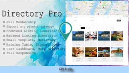 Directory Pro WordPress Plugin
