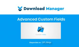 WPDM Advanced Custom Fields