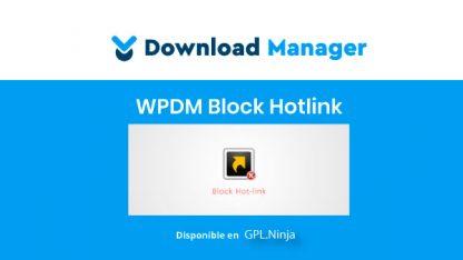 WPDM Block Hotlink