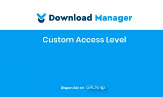 WPDM Custom Access Level
