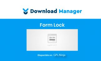 WPDM Form Lock