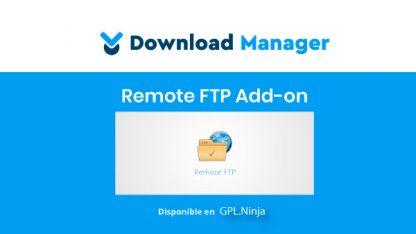 WPDM FTP File Browser