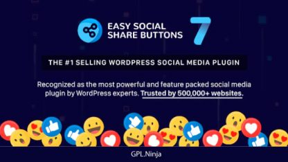 Easy Social Share Buttons for WordPress