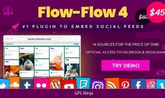 Flow-Flow – Facebook Instagram Twitter Feed