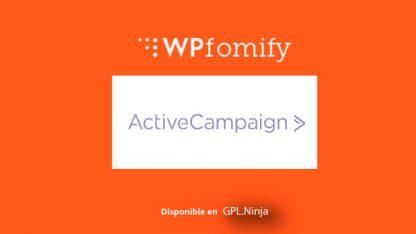 Wpfomify Activecampaign