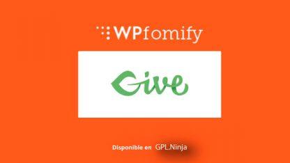 Wpfomify Give