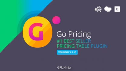 Go Pricing – WordPress Responsive Pricing Tables