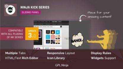 Ninja Kick – WordPress Off-Canvas Sliding Panel