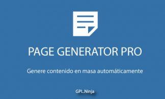 Page Generator Pro