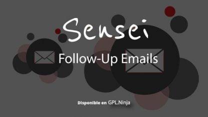 Sensei Follow-Up Emails