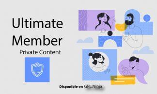 Ultimate Member Private Content