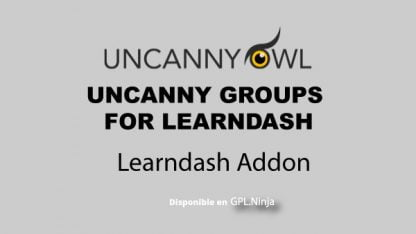 Uncanny Learndash Groups