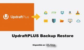 Updraftplust Backup Restore