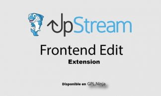 Upstream Frontend Edit