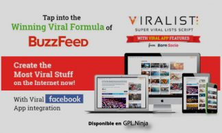 Viralist - Viral lists script with Facebook App
