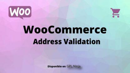 Woocommerce Address Validation