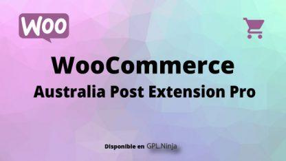 Woocommerce Australia Post Extension Pro