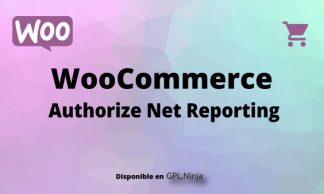 Woocommerce Authorize Net Reporting