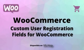 Woocommerce User Registration Field for Woocommerce