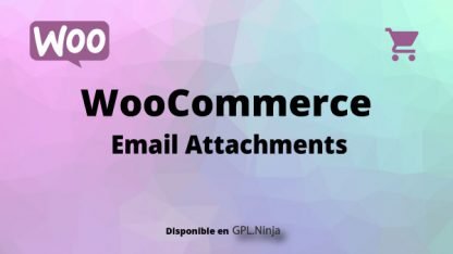 Woocommerce Email Attachments