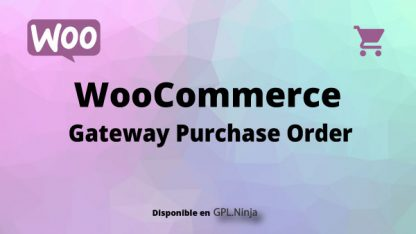 Woocommerce Gateway Purchase Order