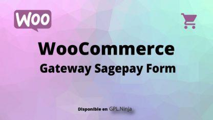 Woocommerce Gateway Sagepay Form