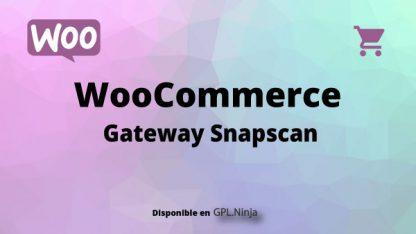 Woocommerce Gateway Snapscan