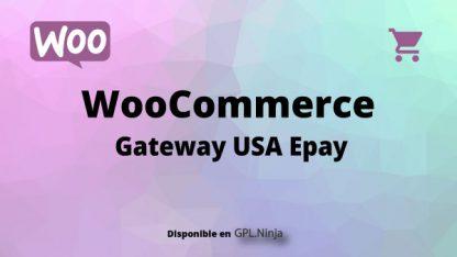 Woocommerce Gateway USA Epay