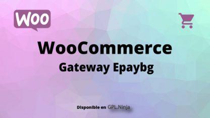 Woocommerce Gateway Epaybg