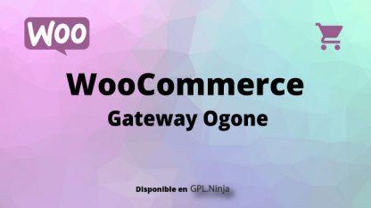 Woocommerce Gateway Ogone
