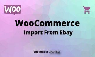 Woocommerce Import From Ebay