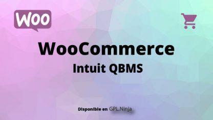 Woocommerce Intuit QBMS