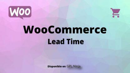 Woocommerce Lead Time