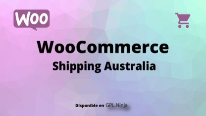 Woocommerce Shipping Australia