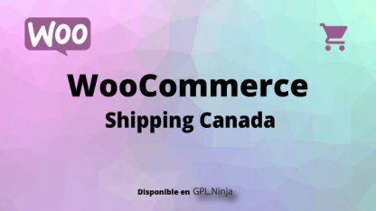 Woocommerce Shipping Canada