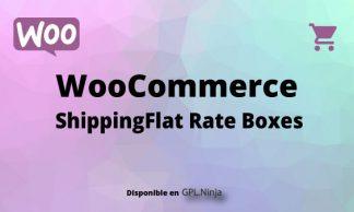 Woocommerce ShippingFlat Rate Boxes