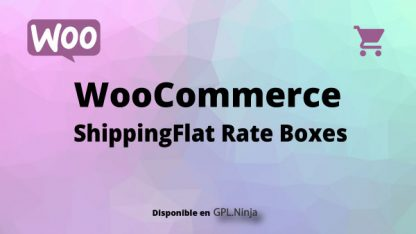 Woocommerce ShippingFlat Rate Boxes