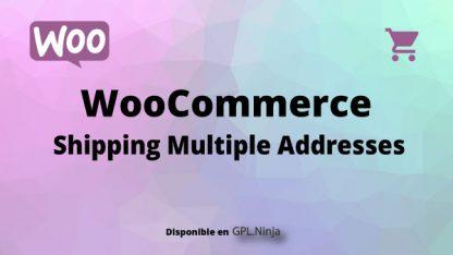 Woocommerce Shipping Multiple Addresses