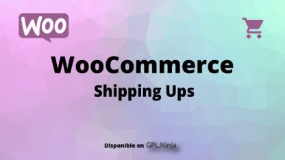 Woocommerce Shipping Ups