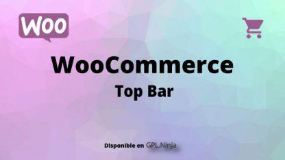 Woocommerce Top Bar