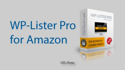 WP-Lister Pro for Amazon