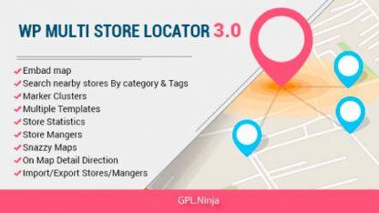 WP Multi Store Locator Pro