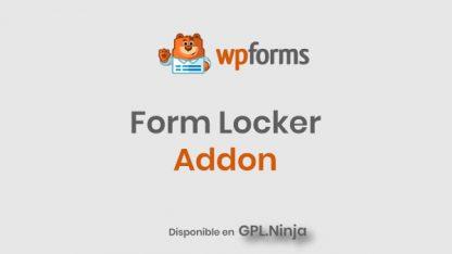 Wpforms Form Locker