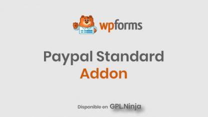 Wpforms Paypal Standard