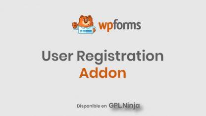 Wpforms User Registration